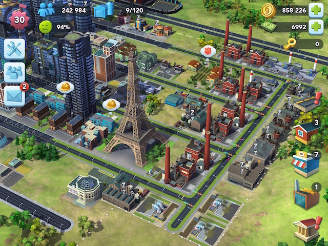 SimCity BuildIt Receives Paris Town Content Update – Adweek