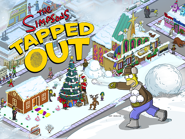 The Simpsons Tapped Out Christmas 2019 The Simpsons: Tapped Out Updated for Christmas 2015 – Adweek