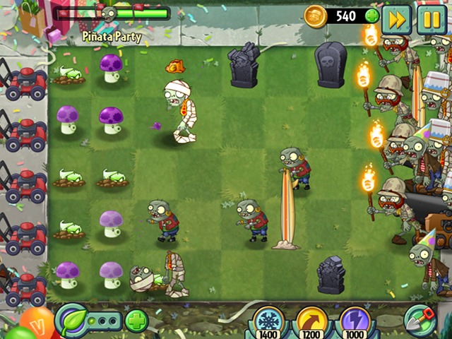 Plants vs  Zombies 2 Receives Birthdayz Mega Event – Adweek