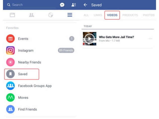 Facebook Android Users Can Now Save Videos – Adweek