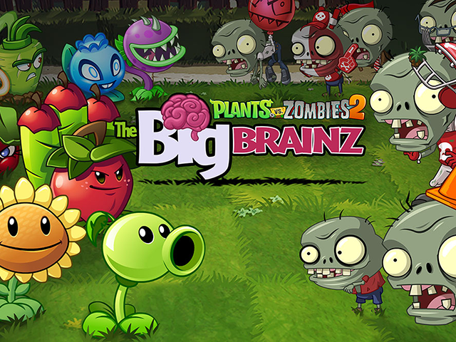 Plants vs  Zombies 2 Launches Keysplosion, Big Brainz Event