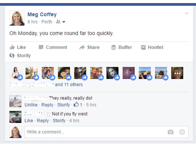 Facebook Testing Profile Pictures In Place Of Reactions Count Adweek