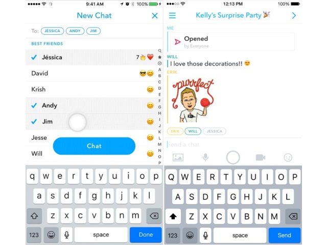 Snapchat Adds Group Chat Two New Creative Tools Shazam Support