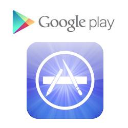 Google Play versus Apple App Store