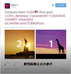 Delta Was A Disaster On Twitter After Usa Beat Ghana Adweek