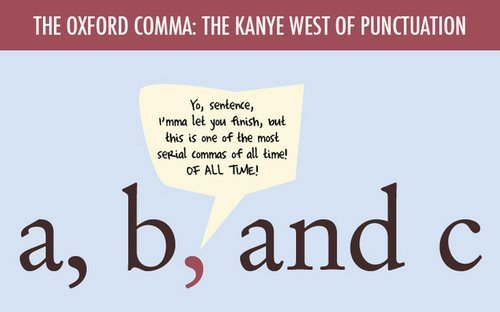 study oxford commas for grammar snobs only ironically adweek