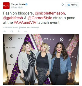 d18f09bb8de Well-Known Bloggers Will Help Target Launch Its Plus-Size Fashion ...