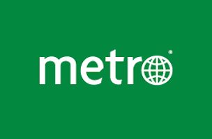 Image result for metro.us logo