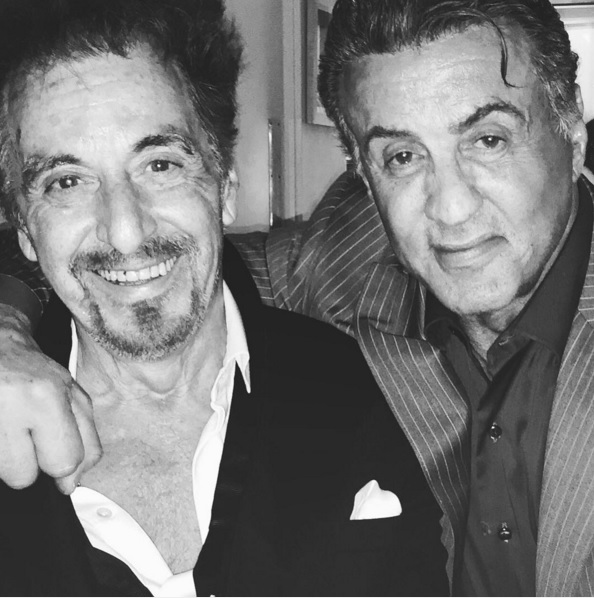 Stallone still hopes to work with pacino adweek however as stallone recently and spectacularly punctuated on instagram he still hopes to one day work with pacino m4hsunfo