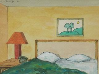 Morley Safer S Hotel And Motel Room Art Adweek