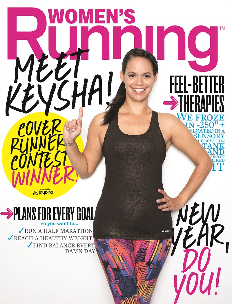 ... Keysha Lleras and her young daughter Hailey when they stayed there as  part of the cover story shoot for the January February issue of Women s  Running. ceb5a3dc7c
